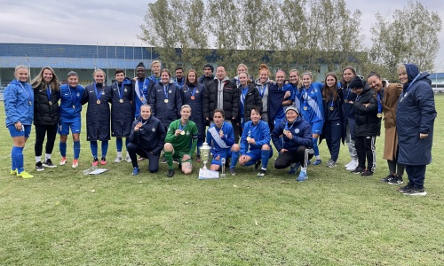 «БИИК-Шымкент» в десятый раз стал чемпионом Казахстана среди женщин