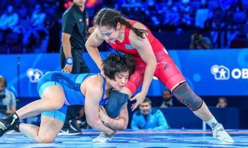 Казахстанке предрекают большие победы после «серебра» чемпионата мира по борьбе