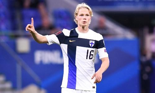 Полузащитник сборной Финляндии оценил команду Казахстана и поделился ожиданиями от матча