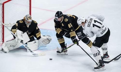Соперник «Барыса» наВостоке КХЛ упустил победу за55секунд досирены. Видео