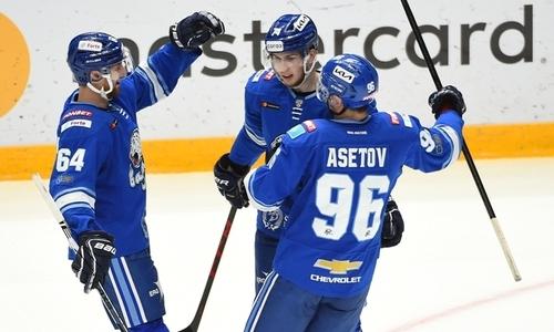 Определены лучшие по игровым показателям хоккеисты «Барыса» в домашнем разгроме от «Ак Барса»