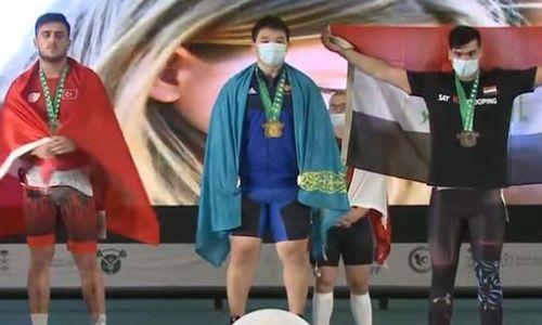 Казахстан завоевал «золото» чемпионата мира по тяжелой атлетике среди юношей