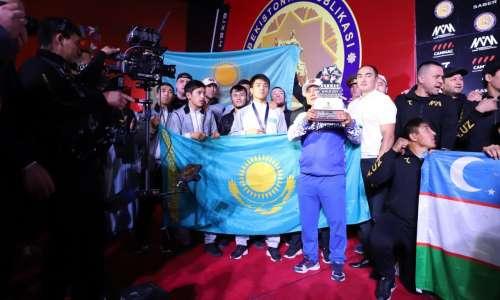 Казахстан занял второе место после Узбекистана в медальном зачете на чемпионате Центральной Азии