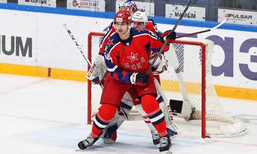 Хоккеист сборной Казахстана поучаствовал в сухой победе топ-клуба КХЛ. Видео