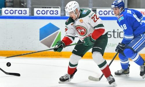 Гол казахстанца помог случиться историческому для КХЛ событию в матче «Барыса»