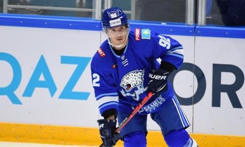 «Барыс» официально объявил о расставании с канадским хоккеистом