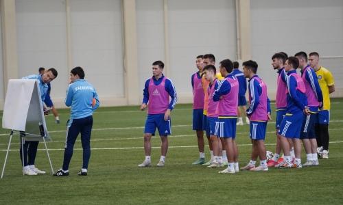 Стал известен стартовый состав молодежной сборной Казахстана на матч против Турции