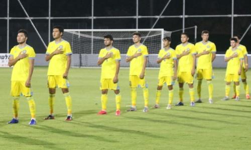 Завершился первый тайм матча Казахстан — Турция в отборе на молодежный ЕВРО-2023