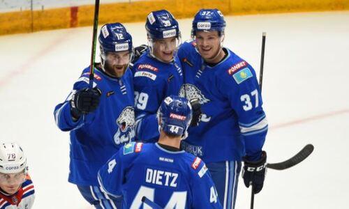 Сразу три шайбы «Барыса» вошли в ТОП-10 рейтинга КХЛ. Видео