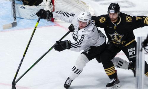 Клуб Востока КХЛ проиграл второй матч подряд и не смог приблизиться к «Барысу»