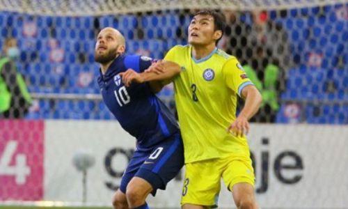 Снова без шансов. УЕФА представил статистику матча Казахстан — Финляндия