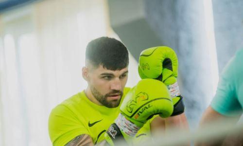 Уроженец Казахстана провел тренировку с чемпионом мира