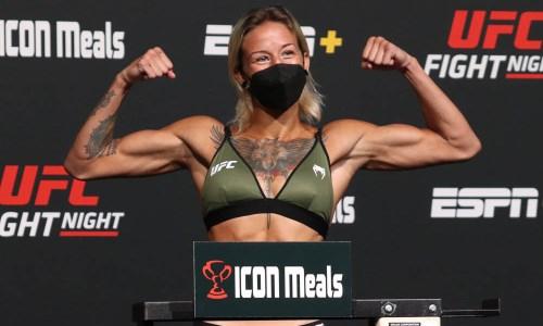 В Америке объявили сроки столкновения Агаповой с Мороз в UFC