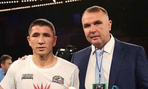 Задумавшийся о завершении карьеры казахстанский боксер обратился к менеджеру Усика и Ломаченко