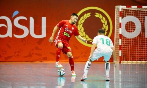 Представлены бомбардиры Кубка Казахстана по футзалу после третьего игрового дня