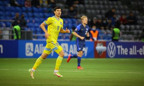 Бактиер Зайнутдинов сыграл юбилейный матч за сборную Казахстана