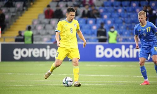 Названы бомбардиры и ассистенты сборной Казахстана в квалификации ЧМ-2022