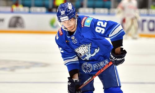 Покинувший «Барыс» канадский хоккеист нашел себе новую команду