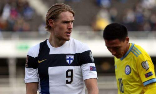 «Мы могли забить больше голов». Игрок сборной Финляндии подвел итоги матча с Казахстаном