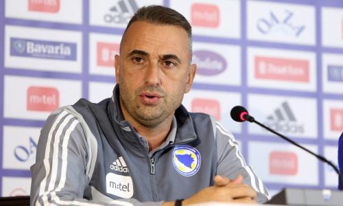 Наставник Боснии и Герцеговины после матчей с Казахстаном и Украиной оценил шансы команды на второе место в группе