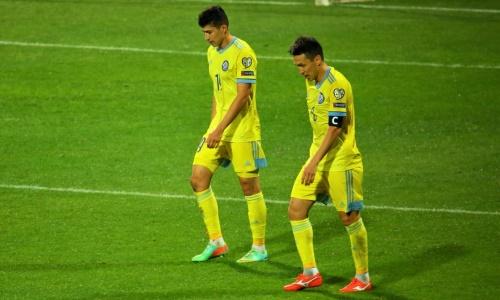 Назван самый нацеленный на ворота футболист сборной Казахстана