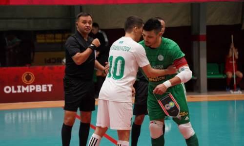 «Кайрат» забил семь голов новичку и первым вышел в полуфинал Кубка Казахстана