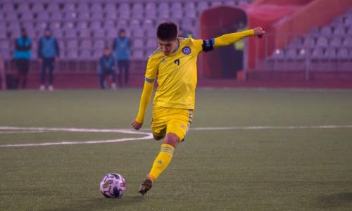 Молодежная сборная Казахстана лишилась капитана на следующий матч отбора ЕВРО-2023