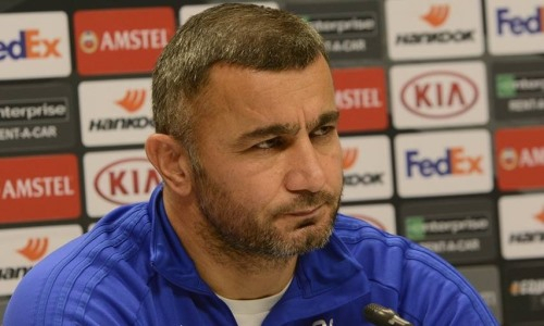 «Первый из трех». Главный тренер «Карабаха» думает только о «Кайрате»