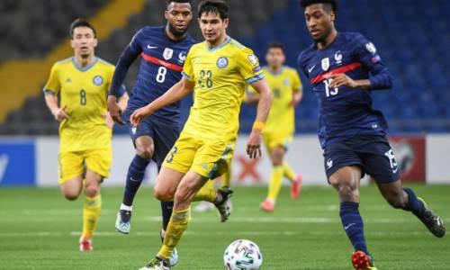 Бывший футболист «Ювентуса» спрогнозировал исход матча Франция — Казахстан